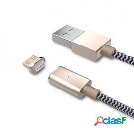 Bluestork Smart Cable USB a Micro-USB B 1.2m Dorado