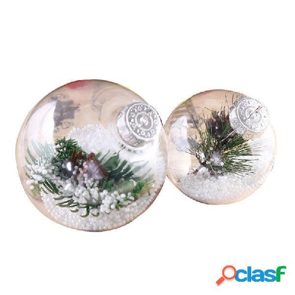 Bolas de plástico súper transparentes DIY Árboles de