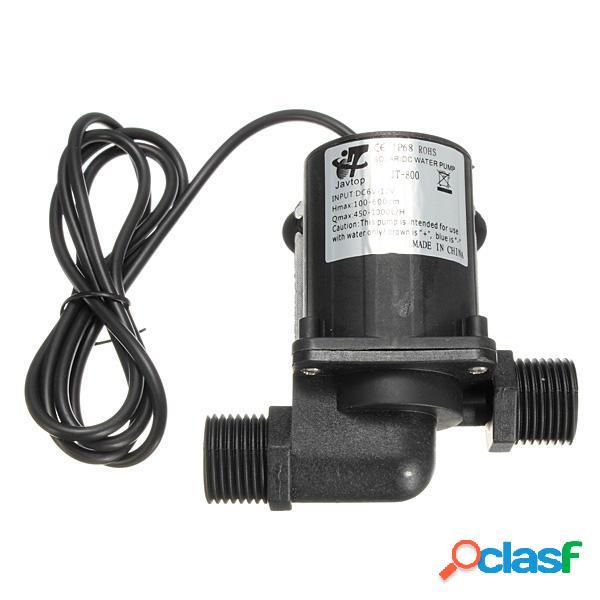 Bomba de agua centrífuga magnética DC 12V eléctrica Sin
