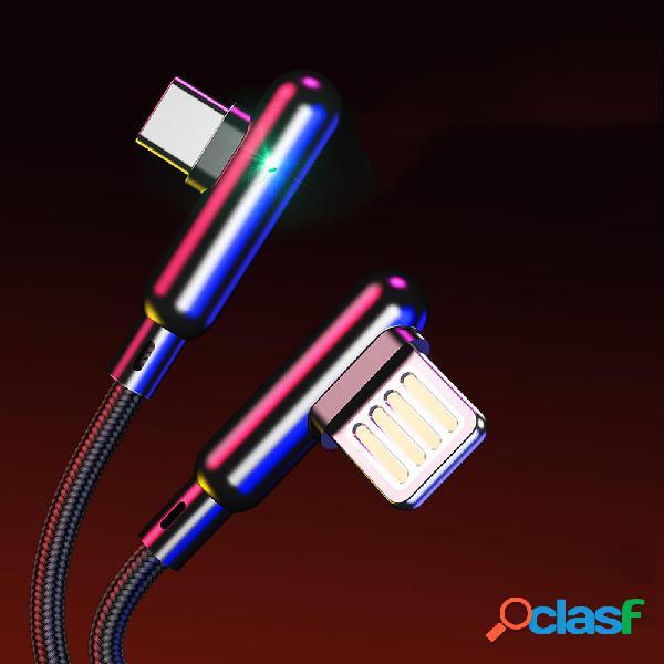 CAFELE 3A Type C Cable de datos trenzado Nylon de carga