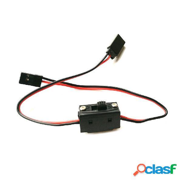 Cable de extensión de 30 cm con interruptor para ESC Servo