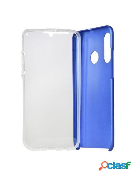 Carcasa Cromada con tapa Azul para Huawei P30 Lite