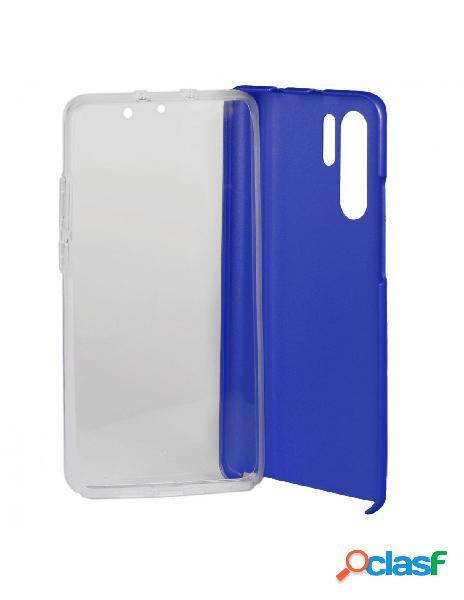 Carcasa Cromada con tapa Azul para Huawei P30 Pro