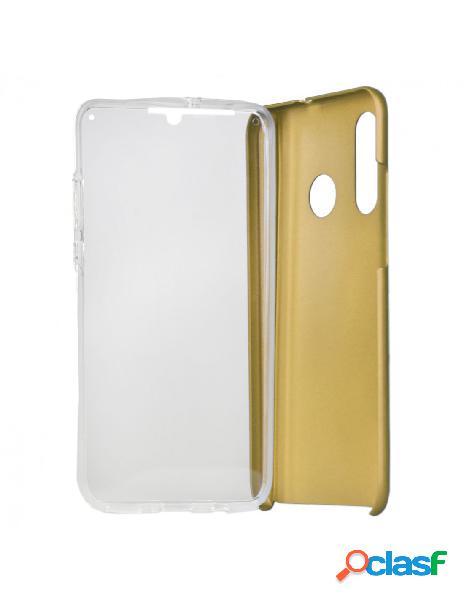 Carcasa Cromada con tapa Oro para Huawei P30 Lite