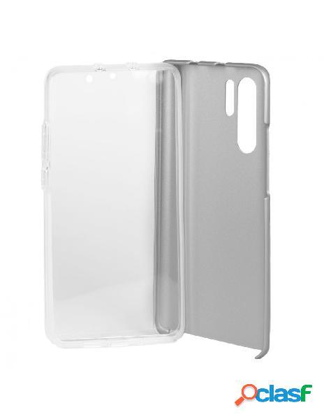 Carcasa Cromada con tapa Plata para Huawei P30 Pro