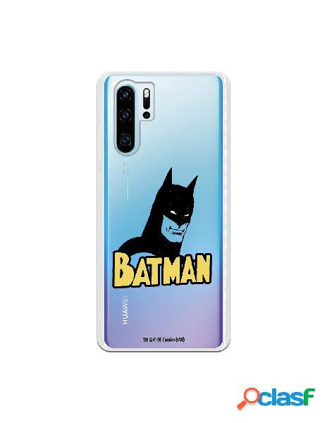 Carcasa DC Comics Batman marcara para Huawei P30 Pro
