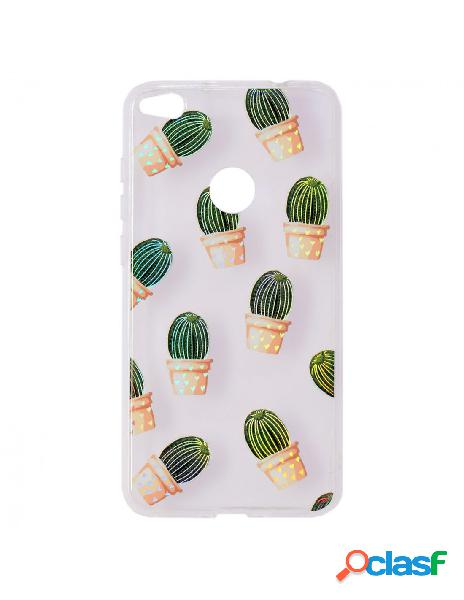 Carcasa Iridiscente Cactus para Huawei P8 Lite 2017