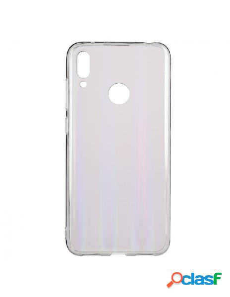 Carcasa Iridiscente Transparente para Huawei Y7 2019