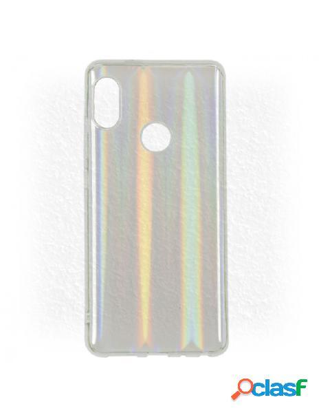 Carcasa Iridiscente Transparente para Xiaomi Mi A2 Lite