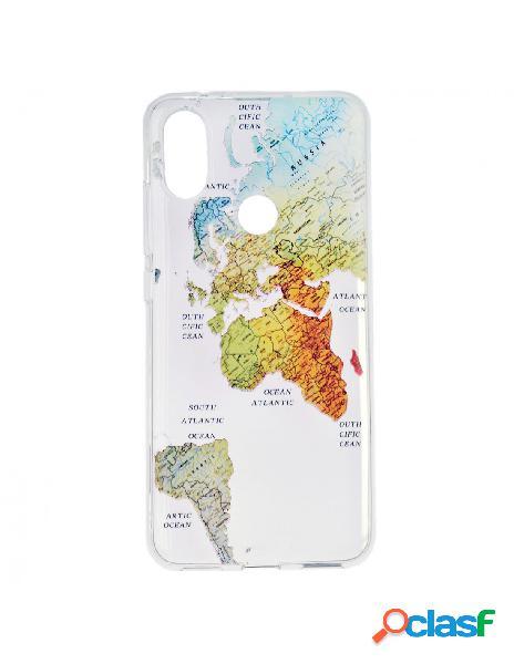 Carcasa Mapa del Mundo para Xiaomi A2