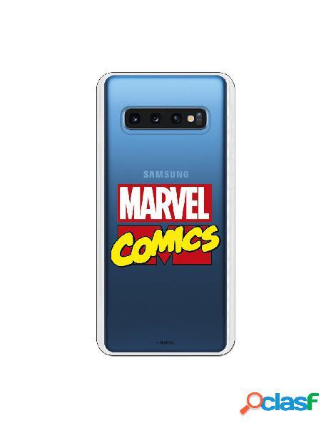 Carcasa Marvel Comics para Samsung Galaxy S10