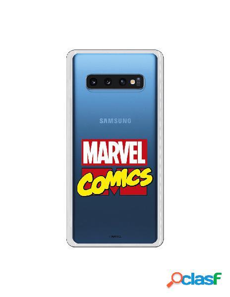 Carcasa Marvel Comics para Samsung Galaxy S10 Plus