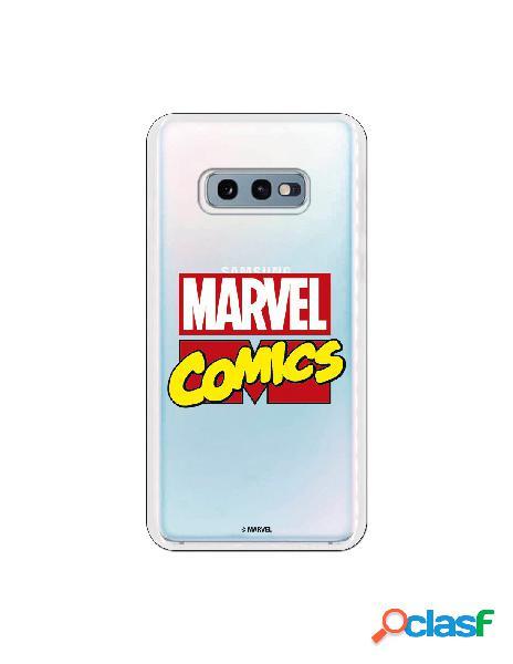 Carcasa Marvel Comics para Samsung Galaxy S10e