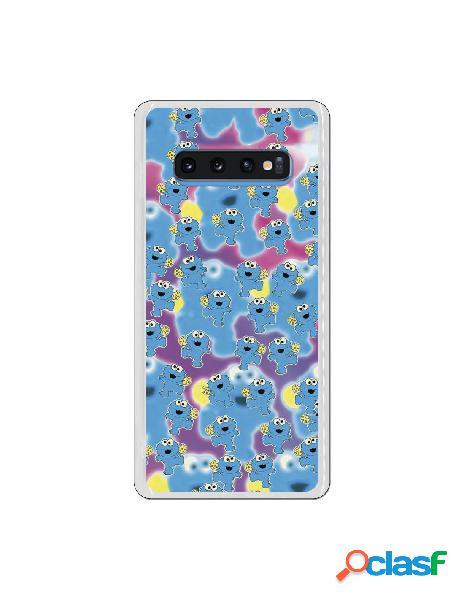 Carcasa Monstruo de las galletas para Samsung Galaxy S10