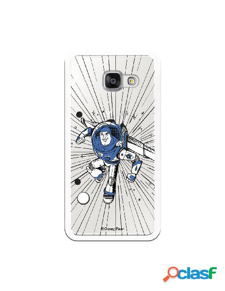 Carcasa Oficial Buzz Clear para Samsung Galaxy A3 2016