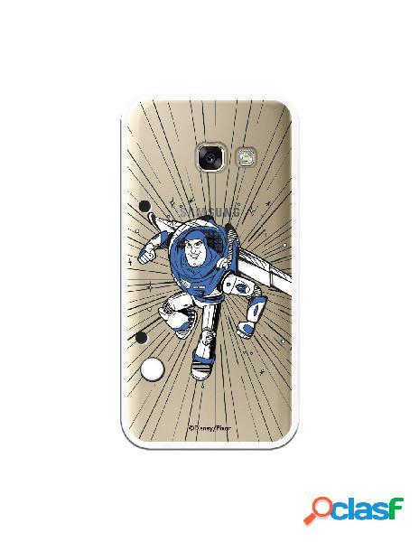 Carcasa Oficial Buzz Clear para Samsung Galaxy A3 2017