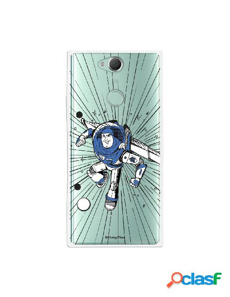 Carcasa Oficial Buzz Clear para Sony Xperia XA2 Plus