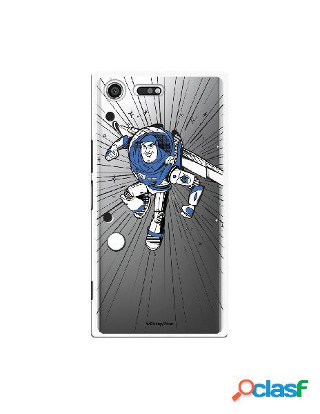 Carcasa Oficial Buzz Clear para Sony Xperia XZ Premium