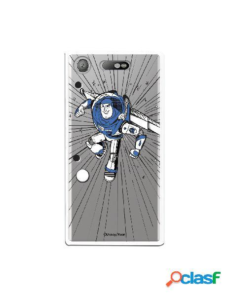Carcasa Oficial Buzz Clear para Sony Xperia XZ1