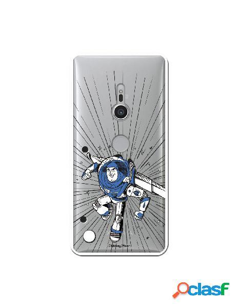 Carcasa Oficial Buzz Clear para Sony Xperia XZ2