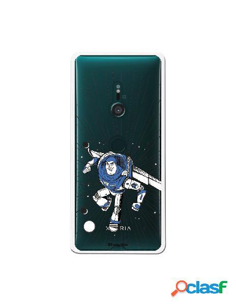 Carcasa Oficial Buzz Clear para Sony Xperia XZ3