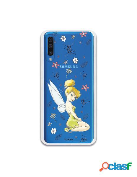 Carcasa Oficial Campanilla Clear para Samsung Galaxy A50