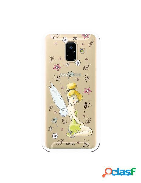Carcasa Oficial Campanilla Clear para Samsung Galaxy A6 2018