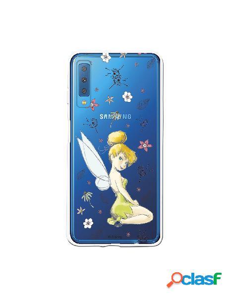 Carcasa Oficial Campanilla Clear para Samsung Galaxy A7 2018