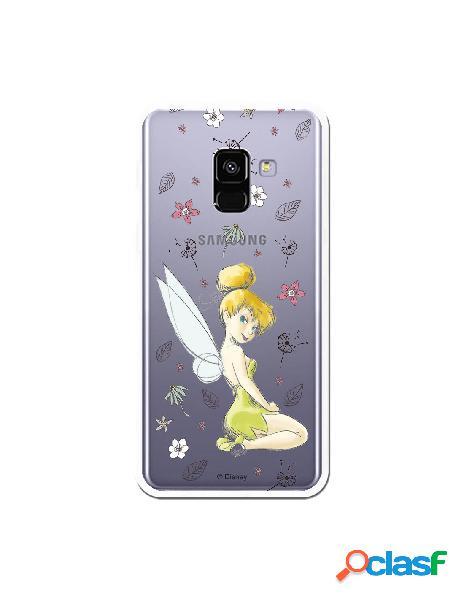Carcasa Oficial Campanilla Clear para Samsung Galaxy A8 2018