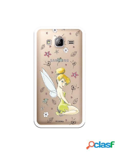 Carcasa Oficial Campanilla Clear para Samsung Galaxy J3