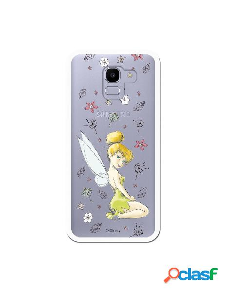 Carcasa Oficial Campanilla Clear para Samsung Galaxy J6 2018
