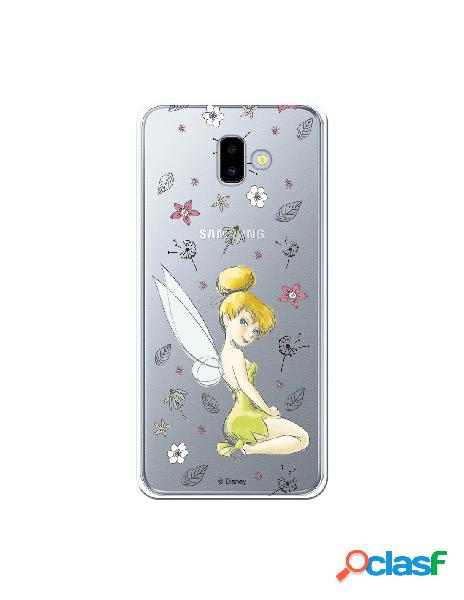 Carcasa Oficial Campanilla Clear para Samsung Galaxy J6 Plus
