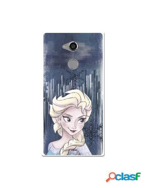Carcasa Oficial Frozen Copo de Nieve para Sony Xperia XA2