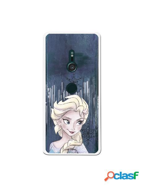 Carcasa Oficial Frozen Copo de Nieve para Sony Xperia XZ3