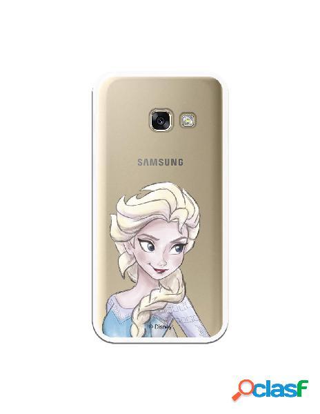 Carcasa Oficial Frozen Elsa Clear para Samsung Galaxy A3