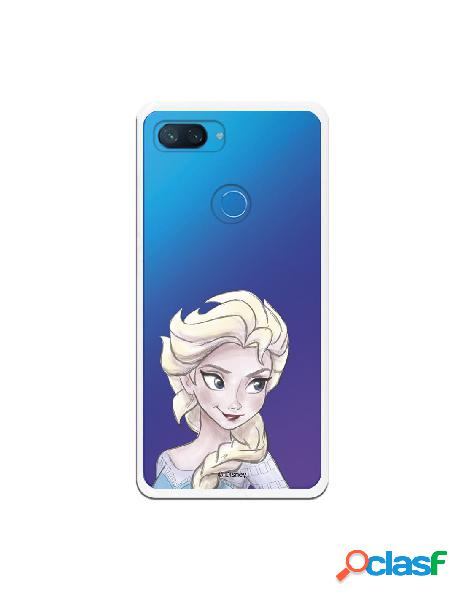 Carcasa Oficial Frozen Elsa Clear para Xiaomi Mi 8 Lite