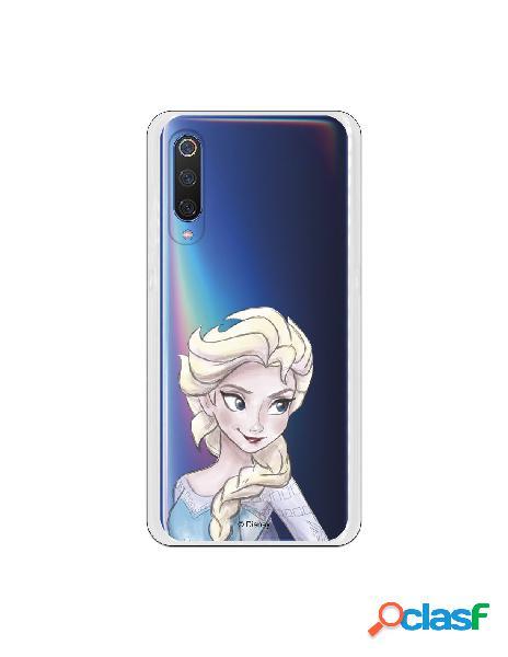 Carcasa Oficial Frozen Elsa Clear para Xiaomi Mi 9