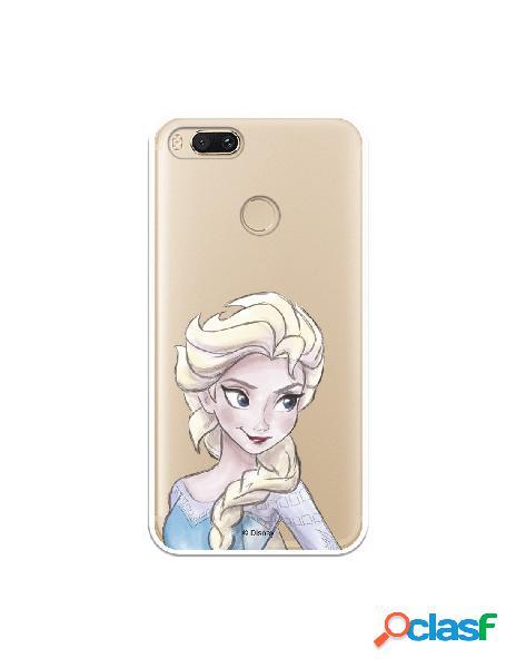 Carcasa Oficial Frozen Elsa Clear para Xiaomi Mi A1