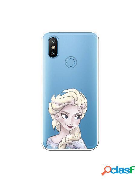Carcasa Oficial Frozen Elsa Clear para Xiaomi Mi A2