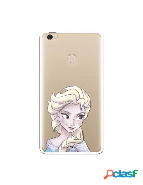 Carcasa Oficial Frozen Elsa Clear para Xiaomi Mi Max