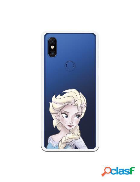 Carcasa Oficial Frozen Elsa Clear para Xiaomi Mi Mix 3
