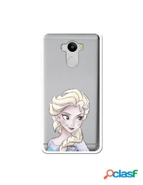 Carcasa Oficial Frozen Elsa Clear para Xiaomi Redmi 4