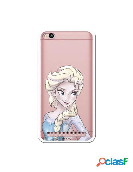 Carcasa Oficial Frozen Elsa Clear para Xiaomi Redmi 5A