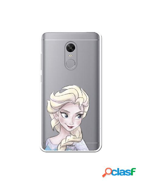 Carcasa Oficial Frozen Elsa Clear para Xiaomi Redmi Note 4X