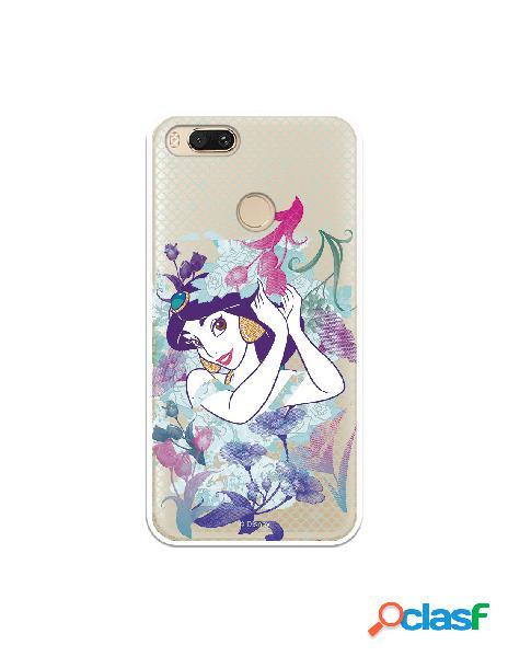 Carcasa Oficial Jasmín Flores Clear para Xiaomi Mi A1