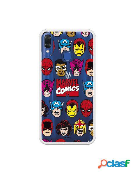 Carcasa Oficial Marvel Comics Super Heroes para Vsmart Joy 1