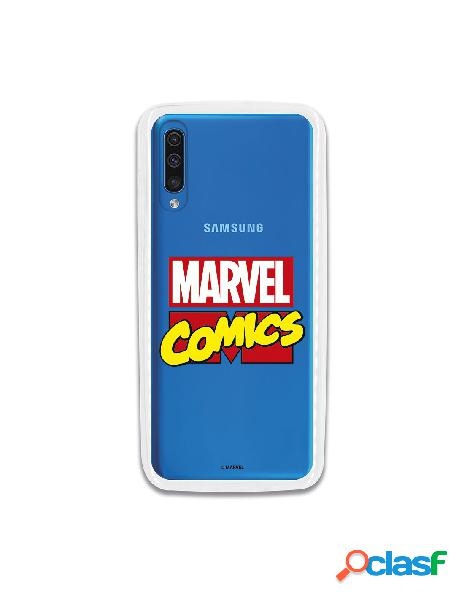 Carcasa Oficial Marvel Comics para Samsung Galaxy A70