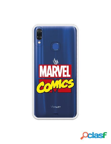 Carcasa Oficial Marvel Comics para Vsmart Joy 1 Plus