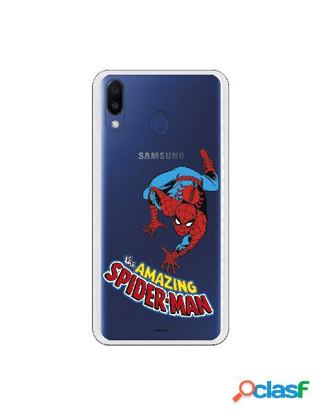 Carcasa Oficial Marvel Spider Man para Samsung Galaxy M20