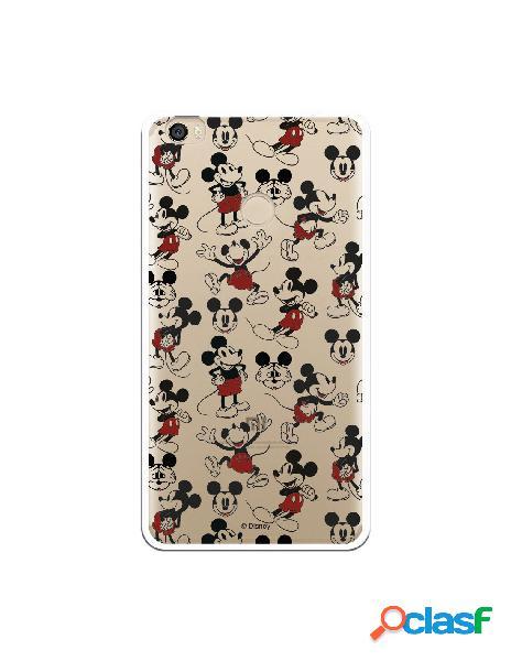 Carcasa Oficial Mickey Patrón Clear para Xiaomi Mi Max